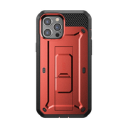 iPhone 12 Pro 6.1 inch Unicorn Beetle Pro Rugged Case-Metallic Red