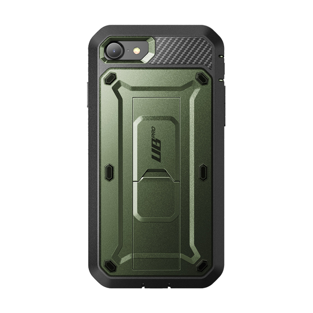 iPhone 7 / 8 Unicorn Beetle Pro Full-Body Case with Kickstand-Dark Green