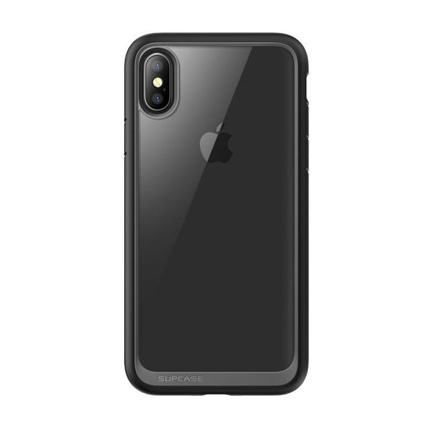 iPhone X / XS Unicorn Beetle Style Slim Clear Case-Metallic Gray