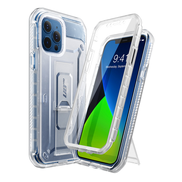 iPhone 12 Pro 6.1 inch Unicorn Beetle Pro Rugged Case-Frost