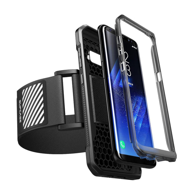 Galaxy S8 Plus Easy Fitting Sport Case and Athletic Armband