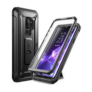 Galaxy S9 Plus Unicorn Beetle Pro with Kickstand Case-Black