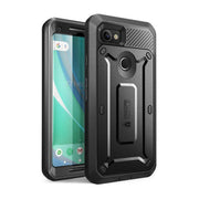 Google Pixel 2 XL Unicorn Beetle Pro Rugged Case with Screen Protector-Black