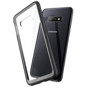Galaxy S10e Unicorn Beetle Style Clear Case-Black