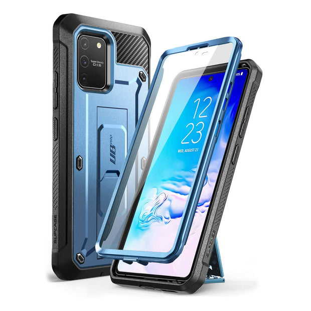 Galaxy S10 Lite Unicorn Beetle Pro Full Body Rugged Holster Case-Metallic Blue