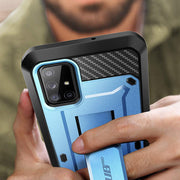 Galaxy A71 5G Unicorn Beetle PRO Rugged Case-Metallic Blue
