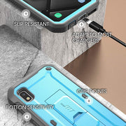 Galaxy A10e Unicorn Beetle Pro Rugged Holster Case-Blue