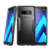 Galaxy Note8 Unicorn Beetle Hybrid Protective Bumper Case-Frost