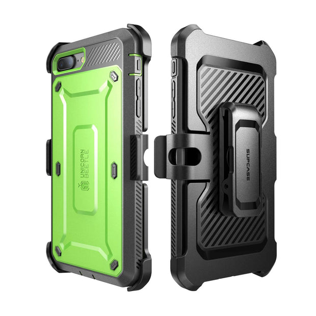 iPhone 7 Unicorn Beetle Pro Holster Case-Green