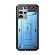 Galaxy S21 Ultra Unicorn Beetle Pro Rugged Case-Metallic Blue