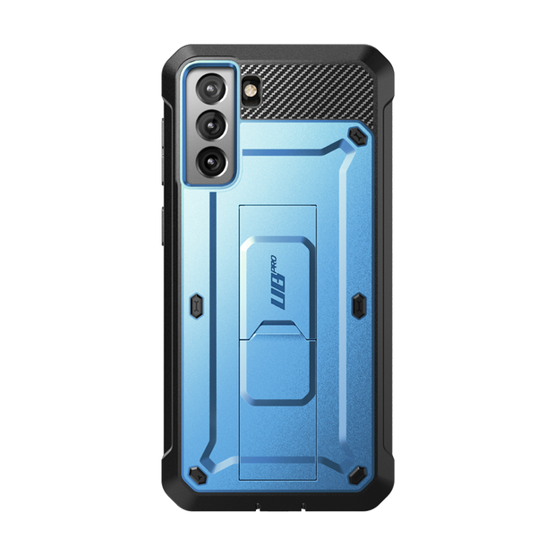 Galaxy S21 Unicorn Beetle Pro Rugged Case-Metallic Blue