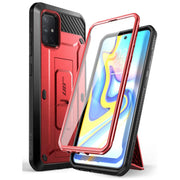 Galaxy A71 5G Unicorn Beetle PRO Rugged Case-Metallic Red
