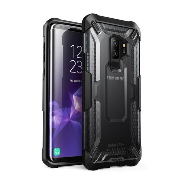 Galaxy S9 Plus Unicorn Beetle Hybrid Clear Protective Case-Black