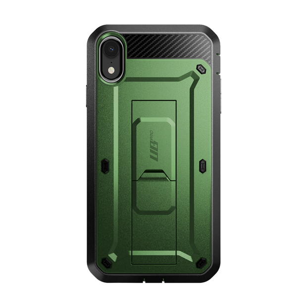 iPhone XR Unicorn Beetle Pro Full-Body Holster Case-Dark Green