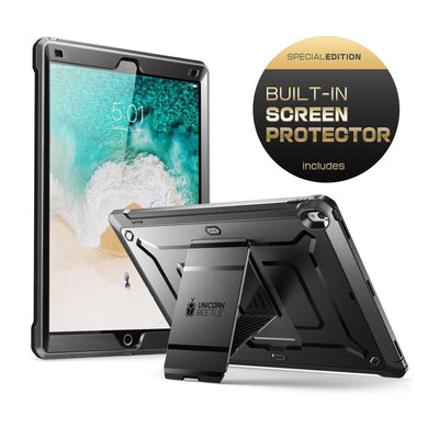 iPad Pro 12.9 in. (2017) Unicorn Beetle Pro Rugged Protective Case w/ Screen Protector