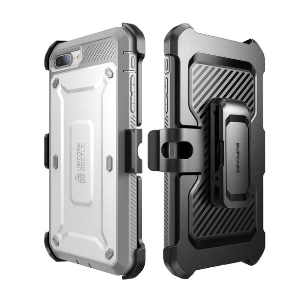iPhone 7 Unicorn Beetle Pro Holster Case-White