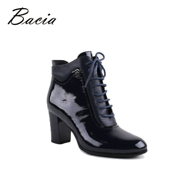 Bacia Laura Ankle Boots Genuine Leather Handmade
