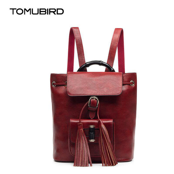 TOMUBIRD Rebecca Retro Leather Women's Back Pack