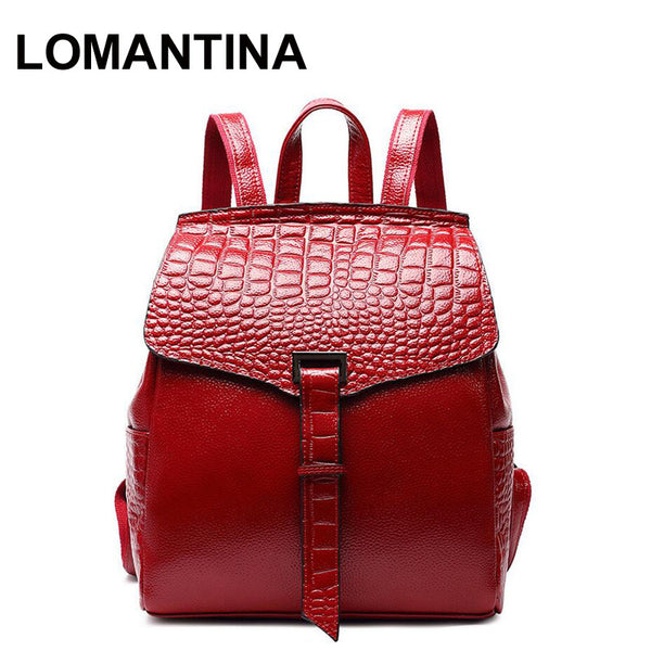 LOMANTINA Casual School Bags For Teenagers Girls