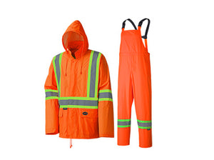crazy price factory outlets hot-selling professional Reflective Rain Suit