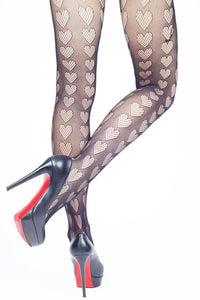 Oh My Hearts Fishnet Stockings
