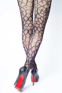 Enchanted Art Deco Fishnet Stockings