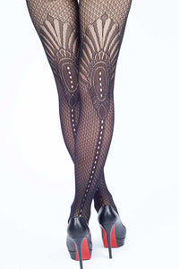 Pharaoh's Fan Fishnet Stockings