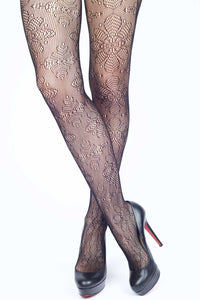 Snow Flower Fishnet Stockings