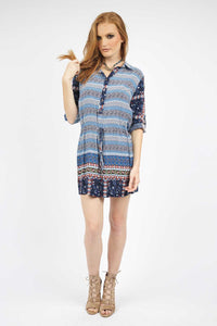 Kate Collared Shirt Dress