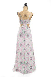 Jolene Retro Maxi Dress
