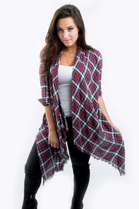 Madison Open Drape Cardigan