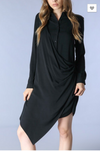 Montana Black Shirt Dress