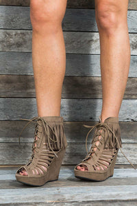 Glory Fringe Wedges