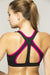 Caged Cutout Back Sports Bra