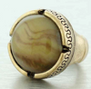 Magdalen Marble Statement Ring