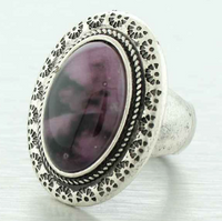 Jasmine Oval Statement Ring