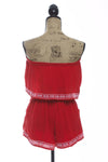 Sadie Red Crop Top