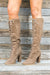 Emelia Knee High Lace Up Boots