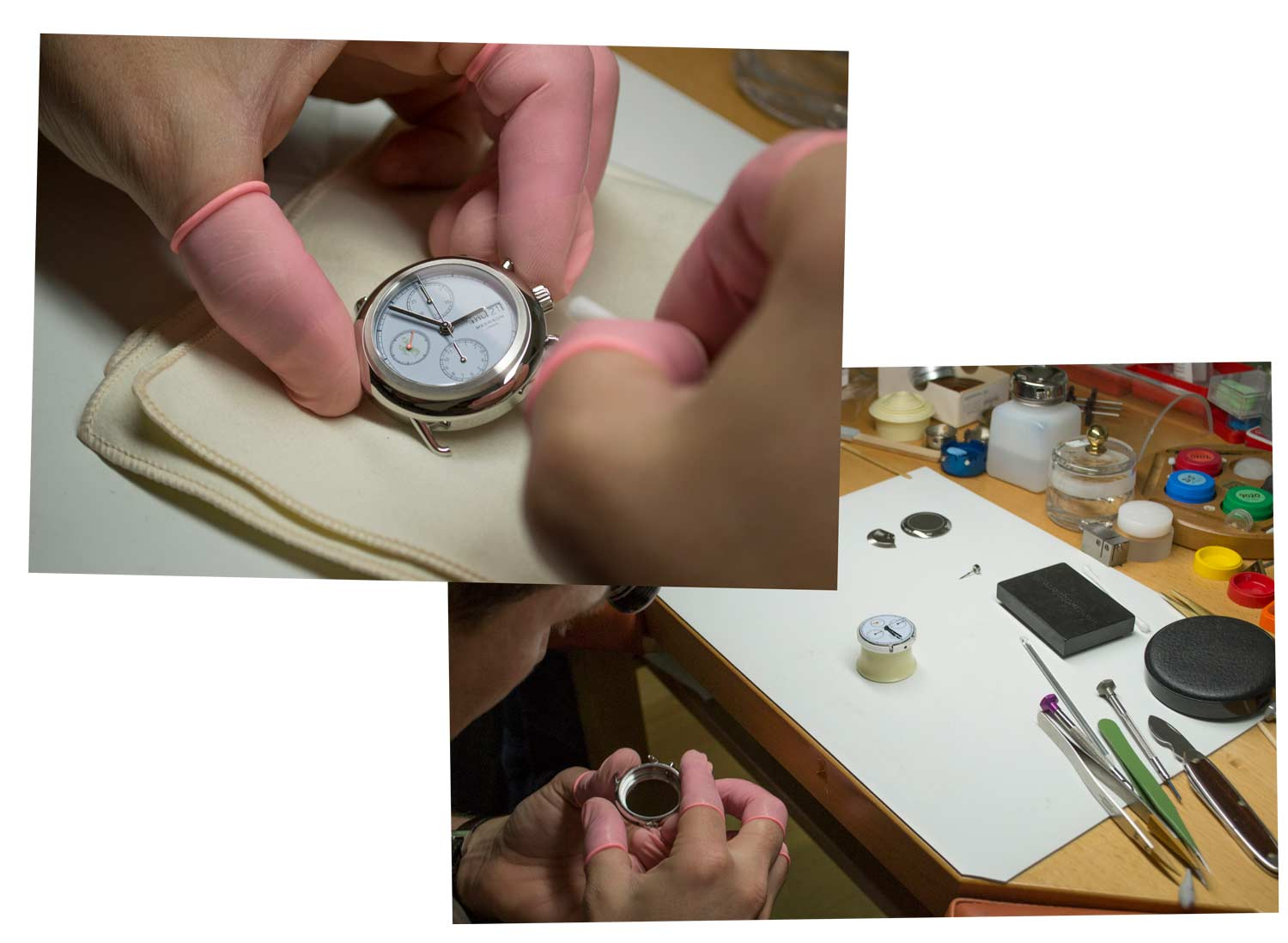 Alexandre Meerson Mutiny collection | British luxury watches | Reimagining luxury for today | The Process