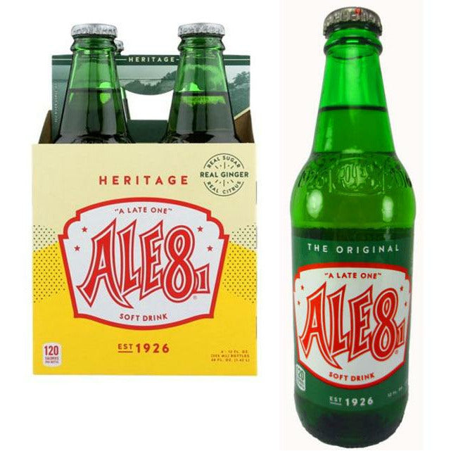 Craft Soda Ale-8-One Soda 072275110227 Ale-8-One