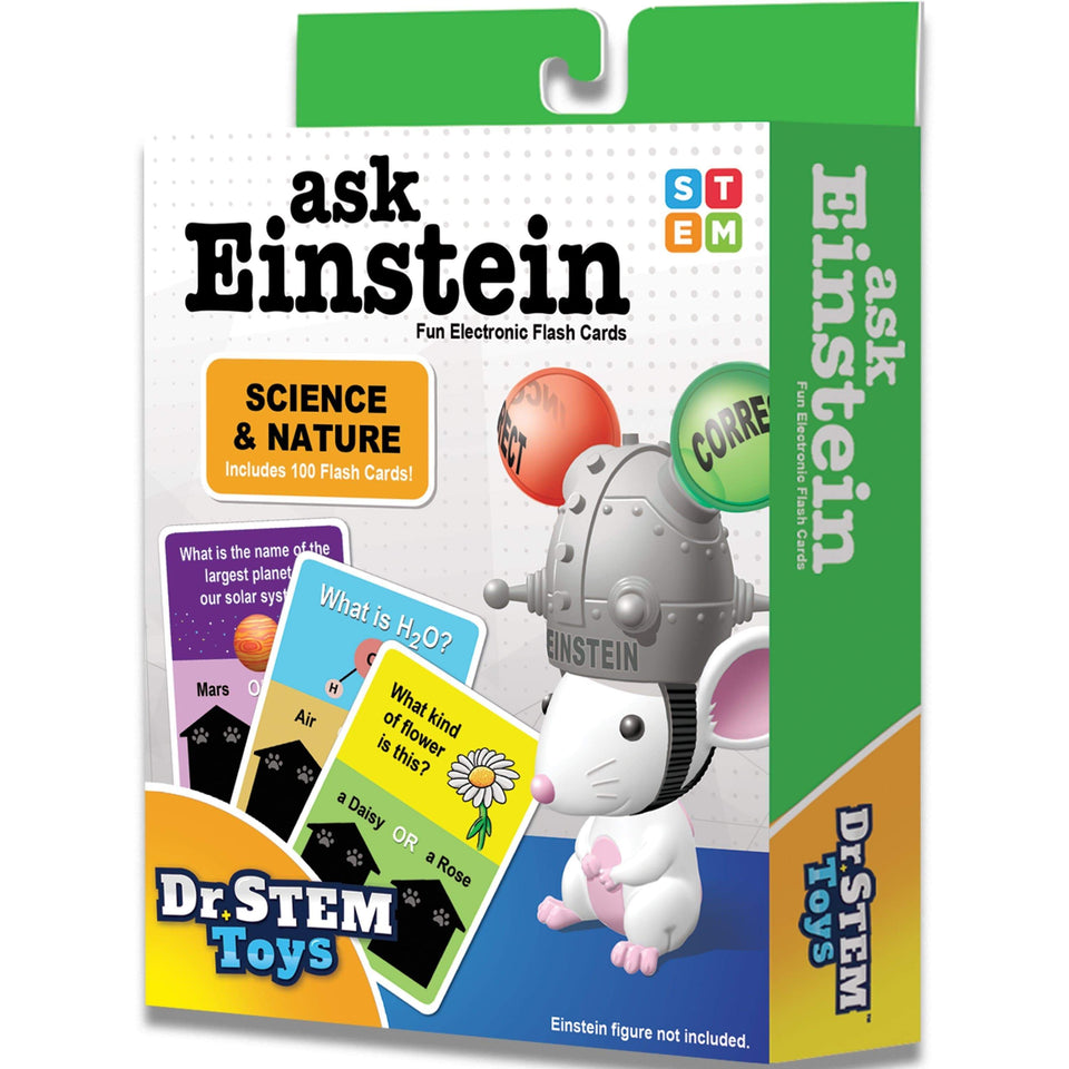 Science Toy Ask Einstein Science And Nature Booster Pack Thin Air Brands