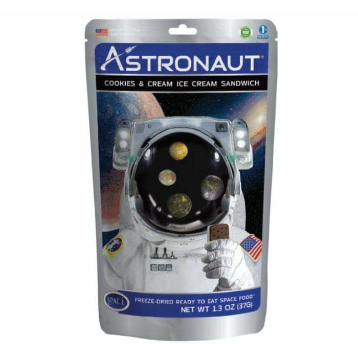 Novelty Candy Astronaut Cookies And Cream Ice Cream Sandwich 048143300083 Astronaut Foods