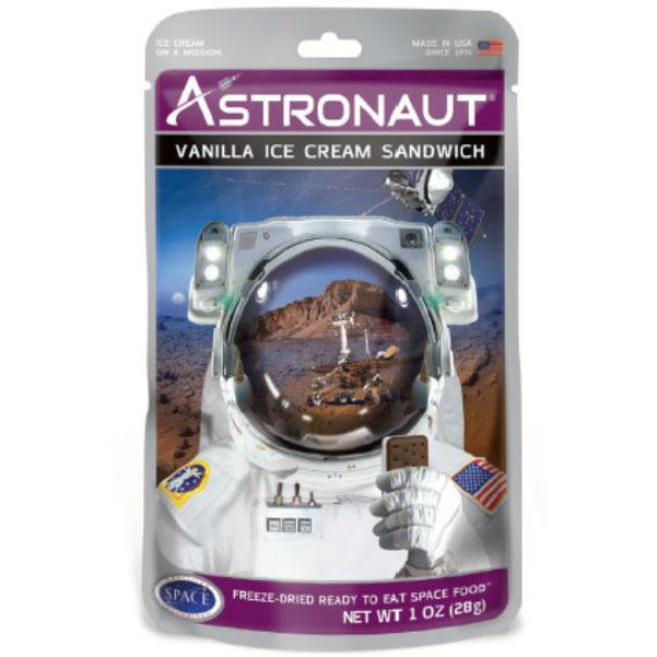 Packaged Candy Astronaut Vanilla Ice Cream Sandwich 048143300021 Americana Outdoor products
