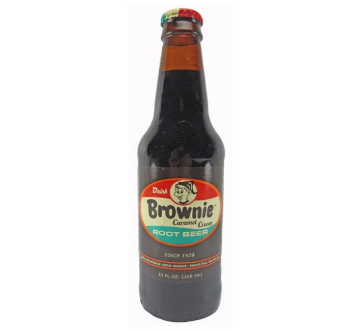 Craft Soda Brownie Caramel Cream Root beer 039771140776 Orca Beverage