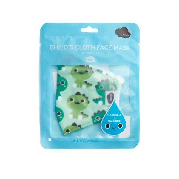Face Mask Childs Face Mask Dinosaurs 5055974909731 Pango