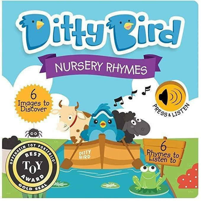 sound book DITTY BIRD Sound Book: Nursery Rhymes 9780994606730 Ditty Bird