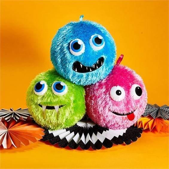 Halloween Fuzzy Monster Ball Sugar Cubed