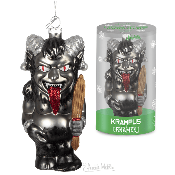 Christmas Krampus Ornament 739048128642 Archie McPhee