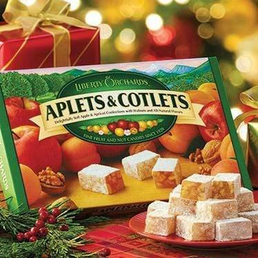 Candies Liberty Orchards Aplets and Cotlets 072680010761 Redstone