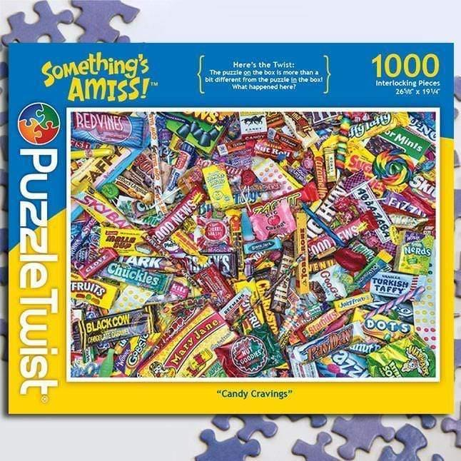 Puzzle Puzzle Twist Candy Cravings 614399101158 Puzzle Twist